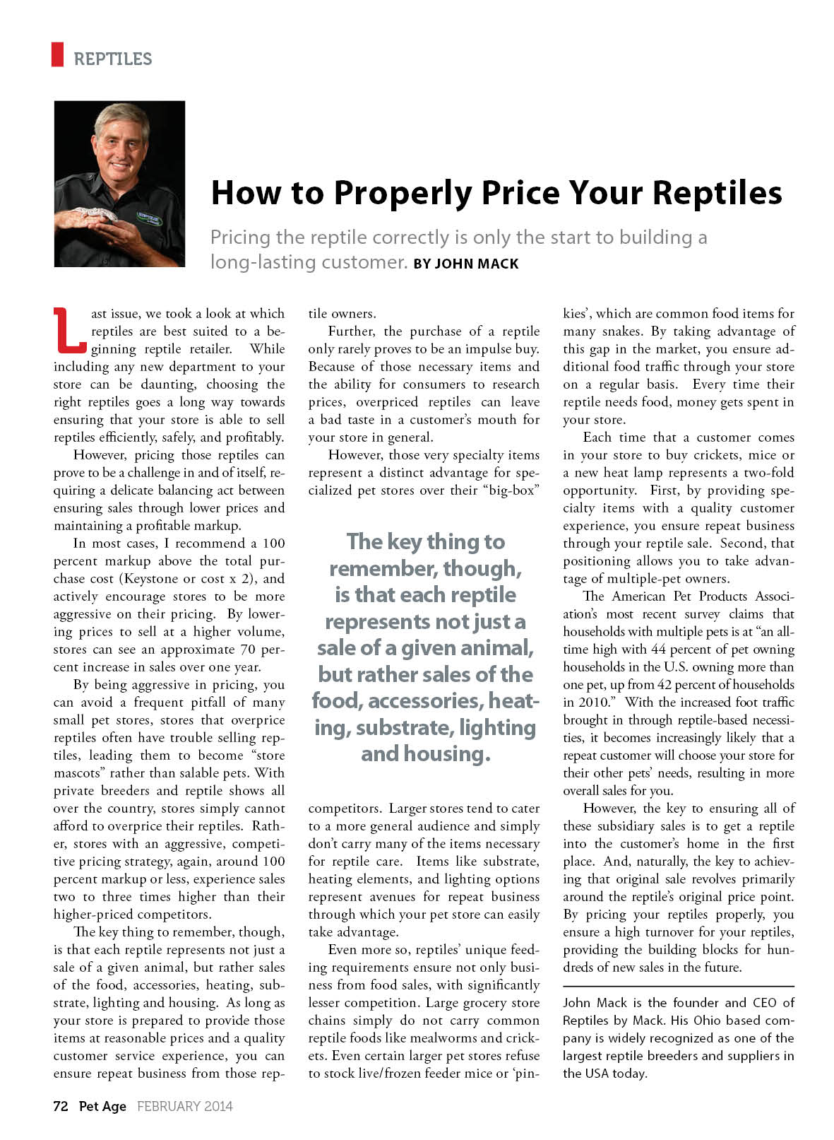 How to properly price your reptiles